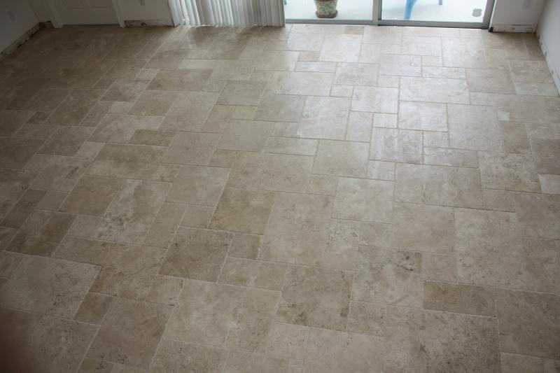 Chiseled Travertine Installation Jupiter Fl