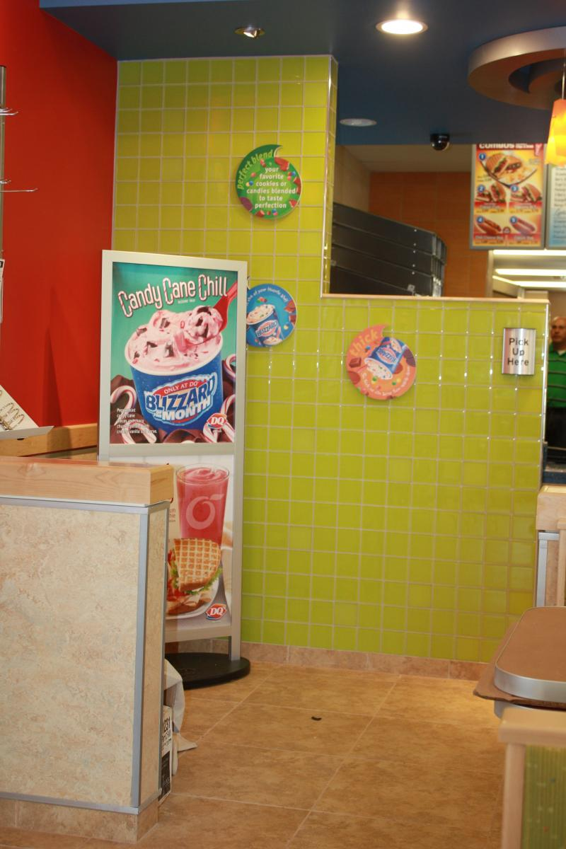 Dairy Queen Accent Wall